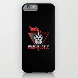 Warrior War Hustle iPhone Case