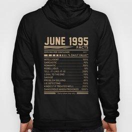 june 1995 birthday t-shirts Hoody