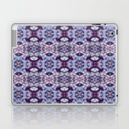 Pattern in Blue and Violet Laptop & iPad Skin