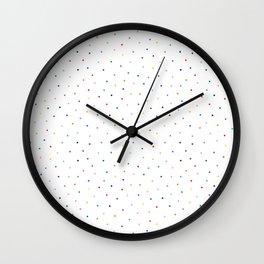 Colorful Polka Dots home decor Wall Clock