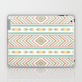 Abstract Tribal Native Geometric Pattern - Bohemian Festival Colorful Laptop & iPad Skin