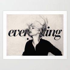 Everything Art Print
