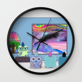Wondrous & Whimzical Places: The Universe Wall Clock