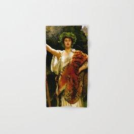 "John Collier ""The Priestess of Bacchus"" Hand & Bath Towel"