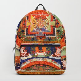 Mandala Buddhist 1 Backpack