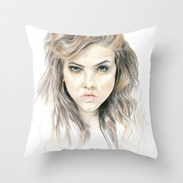 Hey Lolita Hey Throw Pillow