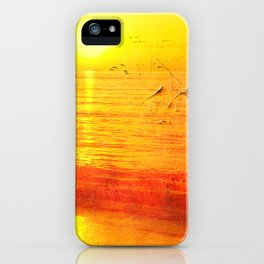 Golden Sunrise iPhone Case