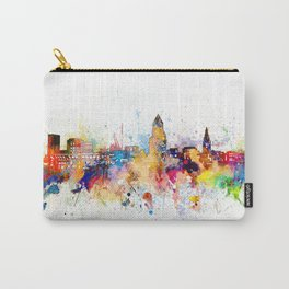 cleveland skyline artistic Carry-All Pouch
