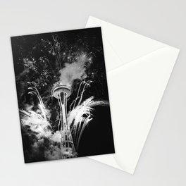 Seattle Space Needle Celebration Stationery Cards