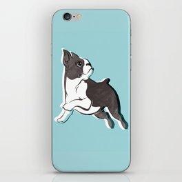 Boston Terrier Love iPhone Skin