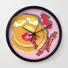 Wakey Wakey Wall Clock