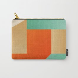 Abstract art - Color pattern - green, orange , gold Carry-All Pouch
