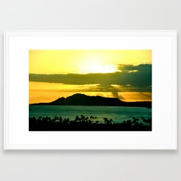 Heavens from Above. Framed Art Print