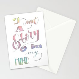 I am a Story Stationery Cards