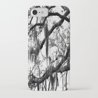 spanish iPhone & iPod Cases featuring Spanish Moss by MorganLoriPhoto