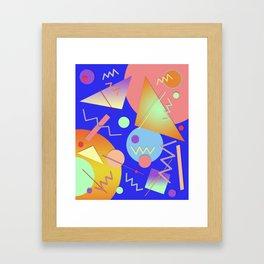 Memphis #414 Framed Art Print