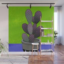 Cactus Art03 Pot#6 Wall Mural