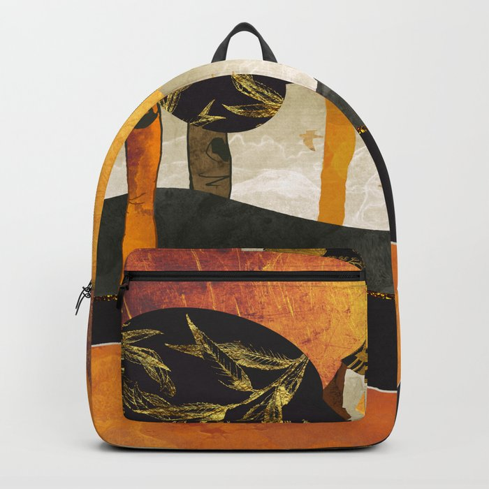 Metallic Forest Backpack