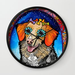 Thief the Nova Scotia Duck Tolling Retriever Wall Clock