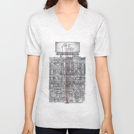 Subliminal City Unisex V-Neck