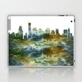 Boston Skyline Massachusetts Laptop & iPad Skin