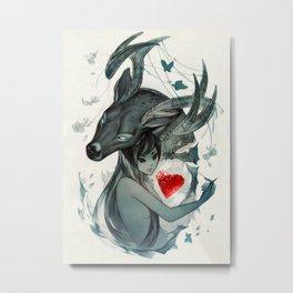 Mending a Broken Heart Metal Print