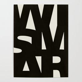Wismar Typografie Poster