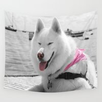 girly Wall Tapestries featuring Girly Tehya by VHS Photography