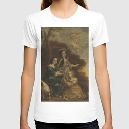 Jacob Willemsz Delff II - Portrait of Geertruyt, Margriet and Anna Delff, the Artist's Daughters (Po T-shirt