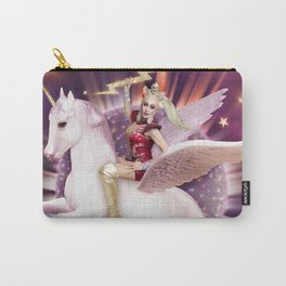 Andora: Drag Queen Riding a Unicorn Carry-All Pouch