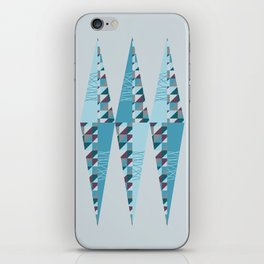 Modern Rhombus iPhone Skin