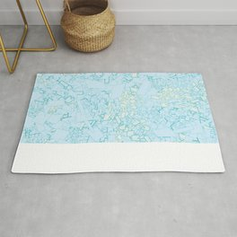 Blue Green II Rug