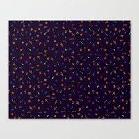 sparkles Canvas Prints featuring Sparkles by DanBee Kim