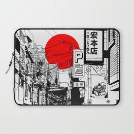 Tokyo street sunrise Laptop Sleeve