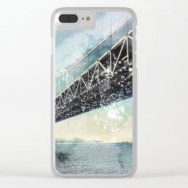 San Francisco - Bay Bridge Clear iPhone Case
