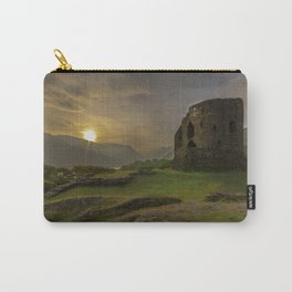 Dolbadarn Castle Sunrise Carry-All Pouch
