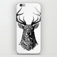 bioworkz iPhone & iPod Skins featuring Ornate Buck by BIOWORKZ