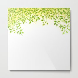 Foliage Canopy Metal Print