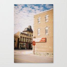 A Corner, Millbrook, Ontario, Canada Canvas Print