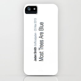 Deep Thought #3 iPhone Case