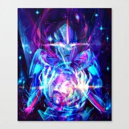disintegrate Canvas Print