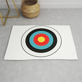 Isolated Target Rug