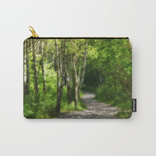 Forest path 45 Carry-All Pouch