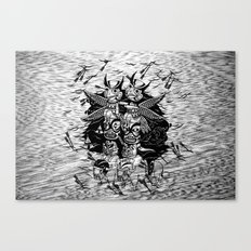 The Myth of Totummy Canvas Print