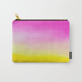 Abstract painting in modern fresh colors Carry-All Pouch
