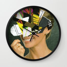 the disaster in her face 1 Wall Clock