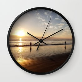 The Morning Cast Wall Clock