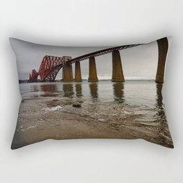 Forth Rail Bridge Rectangular Pillow