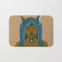 The Goddess Bastet Bath Mat