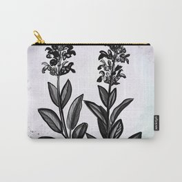 Sage Botanical Illustration Carry-All Pouch